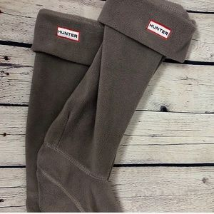 HUNTER brown M\L socks